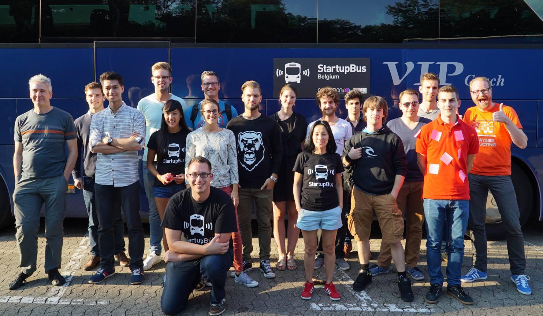 StartupBus Belgium 2015
